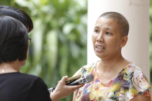 Người phụ nữ ung thư khuyết vòng 1 và câu chuyện lan tỏa khát vọng sống