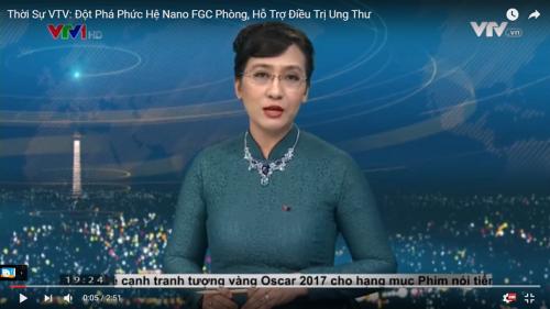 Thời Sự VTV1: Việt Nam Chế Tạo Thành Công CumarGold Kare Cho Bệnh Nhân Ung Bướu