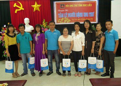 CVI đồng hành cùng Hội Ung thư tỉnh Bạc Liêu