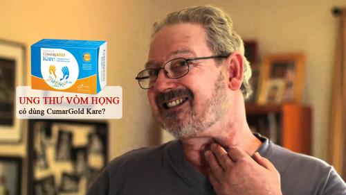Bệnh nhân ung thư vòm họng có nên sử dụng CumarGold Kare không?