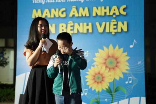 Hành trình mang tiếng hát đến Bệnh viện Ung bướu Hà Nội