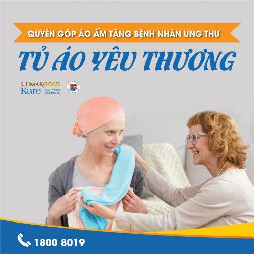 Chung tay gom áo ấm trao tặng bệnh nhân ung thư!